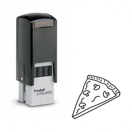 Tampon de bureau - Part de pizza