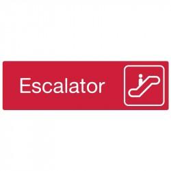 "Plaque ""Escalator"""