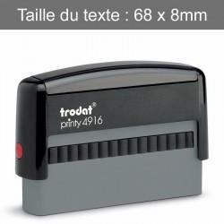 """Tampon Trodat 4916 """"Spécial Chèques"""""""